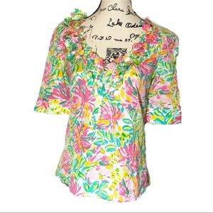 Lilly Pulitzer Cerelia Ruffle Little lillet